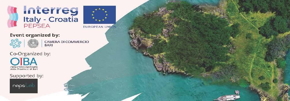 PRESENTAZIONE PROGETTO PEPSEA -  Protecting the Enclosed Parts of the Sea in Adriatic from pollution