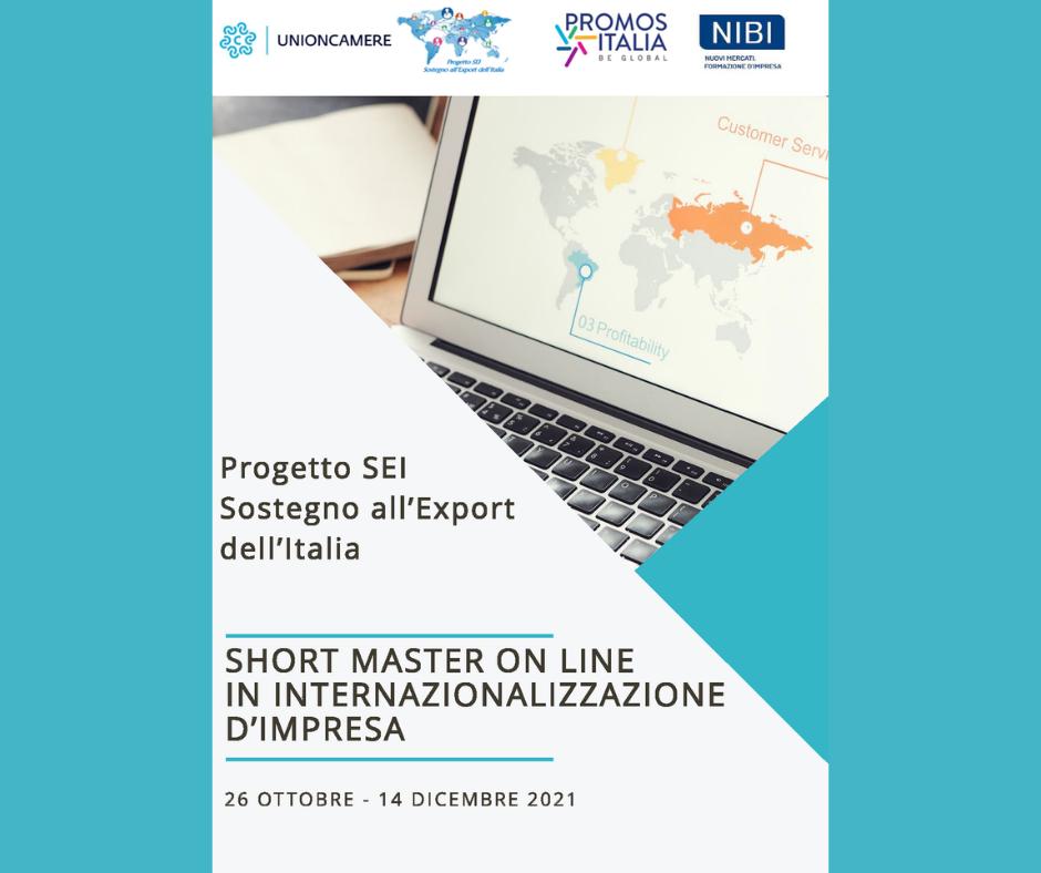 Progetto SEI - Short master in Internazionalizzazione d'Impresa