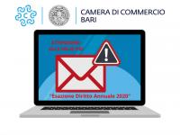 Attenzione alle false PEC - Esazione Diritto Annuale 2020