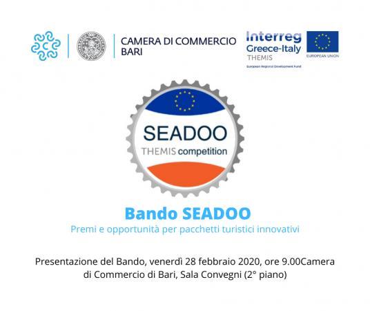 Bando SEADOO: premi e opportunità per pacchetti turistici innovativi - EVENTO ANNULLATO