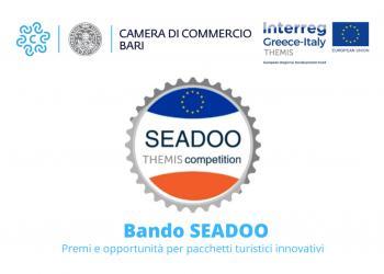 Bando SEADOO: premi e opportunit� per pacchetti turistici innovativi - Pubblicazione
