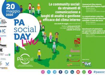 DIRETTA - PA Social Day 2020. Mercoledì 20 maggio