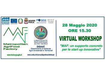Agroalimentare: un workshop virtuale per attivare percorsi di accelerazione in team - 28 maggio