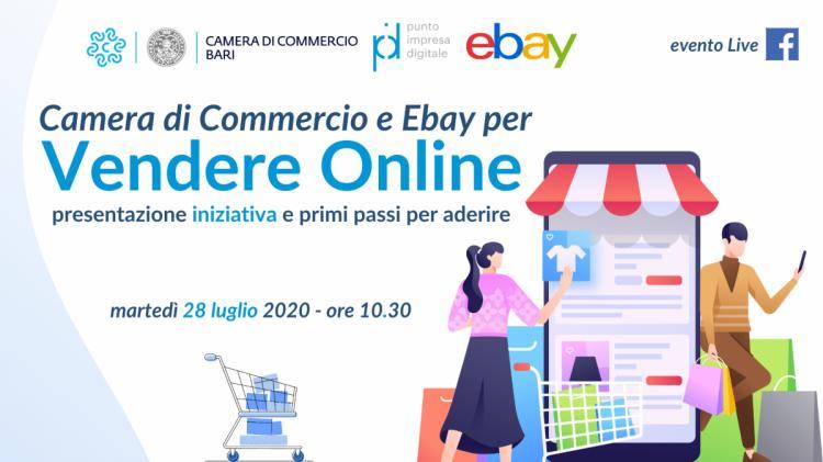Ebay e Camera di Commercio di Bari per le imprese - PRESENTAZIONE DIRETTA LIVE 28 luglio ore 10.30