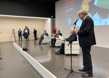 'CREDITO, FUTURO, IMPRESA. Per una Puglia che guarda al mondo' - Le imprese incontrano Boccia, Gualtieri ed Emiliano
