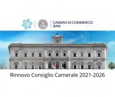 Rinnovo Consiglio camerale 2021-2026