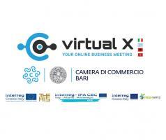 Al via Virtual X, la fiera online della Camera di Commercio di Bari