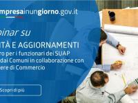 IMPRESAINUNGIORNO 09/2021 Novità e aggiornamenti | incontri per funzionari SUAP | 22 e 23 settembre