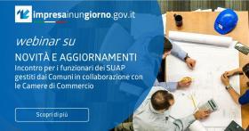IMPRESAINUNGIORNO 09/2021 Novità e aggiornamenti   incontri per funzionari SUAP   22 e 23 settembre