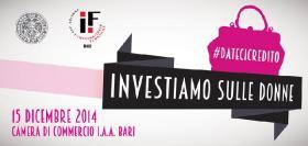 #datecicredito - Investiamo sulle donne